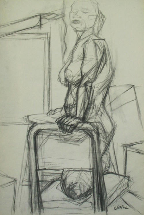 Figure and Chair Study